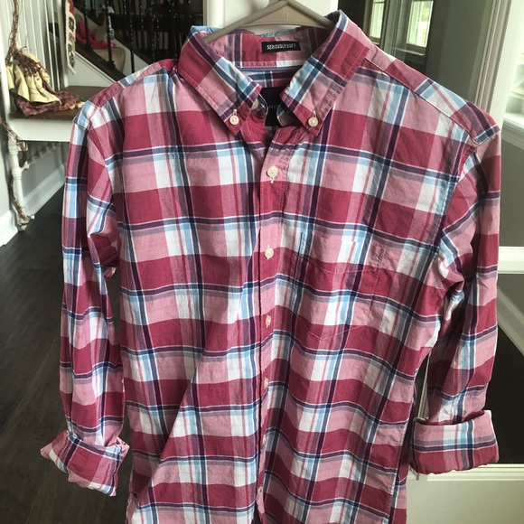 230993b89bd7 American Eagle Outfitters Shirts | American Eagle Mens Button Down ...